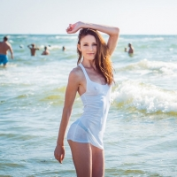 Фото девушек в одессе на пляже